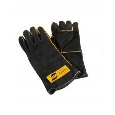 MIG/MAG/MMA-Schweißerschutzhandschuh Heavy Duty Black