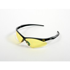 Schutzbrille Warrior gelb